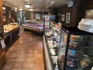 Leonard's market inside store view
